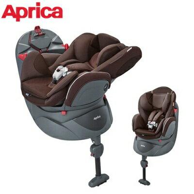 Aprica平躺型嬰幼兒汽車安全臥床椅_Fladea DX貓頭鷹棕BR