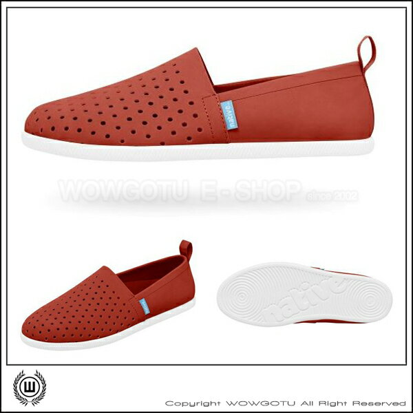 NATIVESHOES - Venice - GLM00(紅)TORCH RED/SHELL WHT (6400)