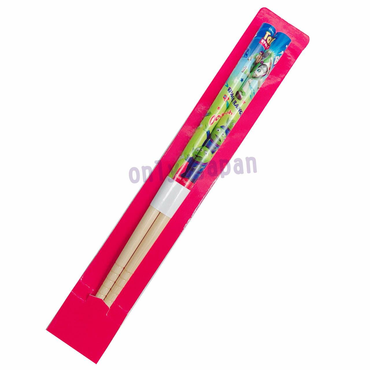 【真愛日本】16121500024 漆器天然竹筷子-16.5CM三眼怪 迪士尼 玩具總動員 三眼怪 竹筷 筷子 食器