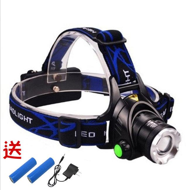 XM-L2 LED燈泡頭燈 全配套餐 頭套燈 釣魚燈 20623