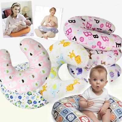 (限宅配)孕婦多功能U型哺乳側睡枕 純棉護腰側臥哺乳靠枕