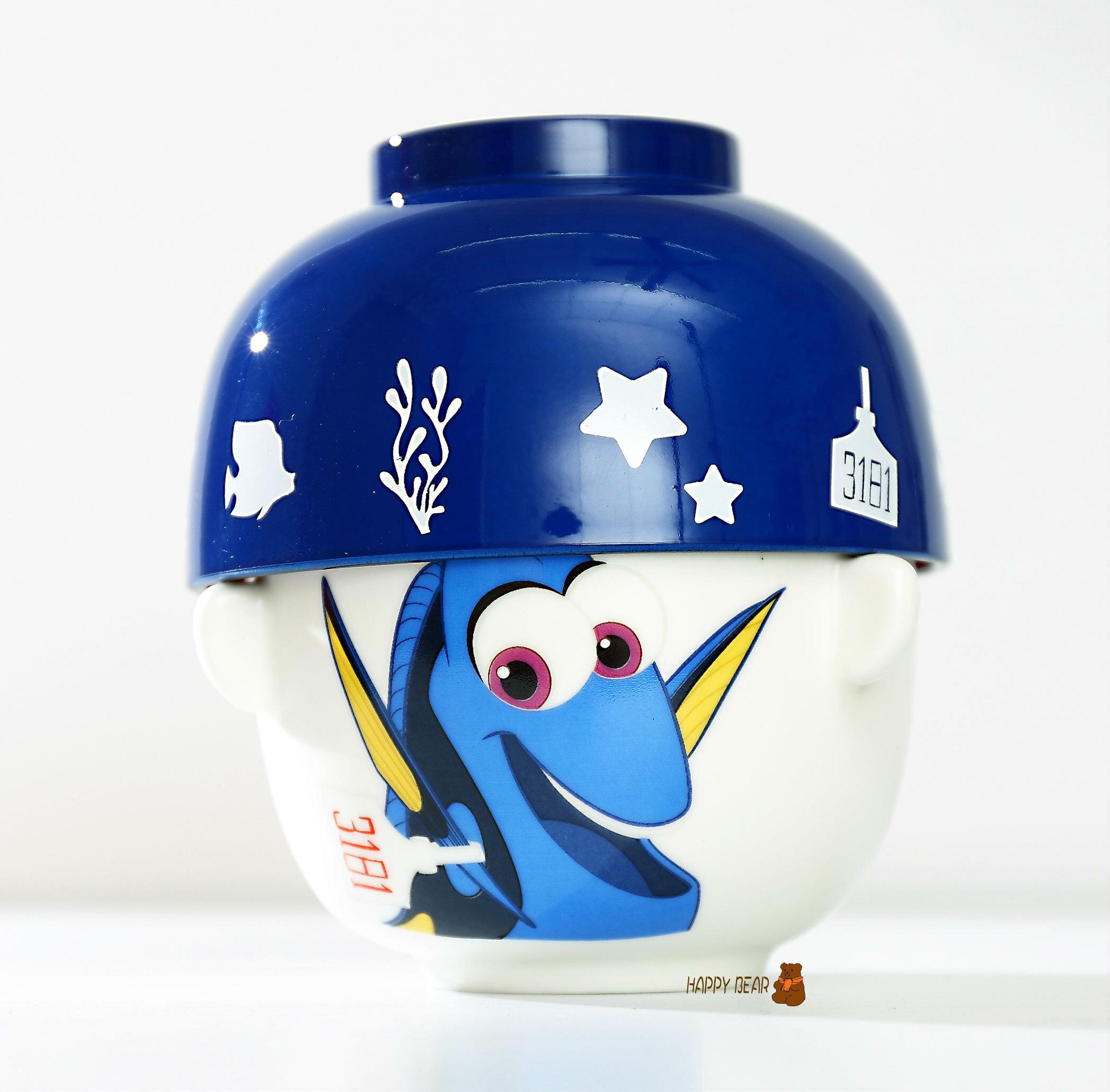 日本正版 Disney 海底總動員2 多莉去哪兒  超人氣兩用陶瓷碗(飯碗+湯碗)- 海底總動員 多莉  Dory【快樂熊雜貨舖】