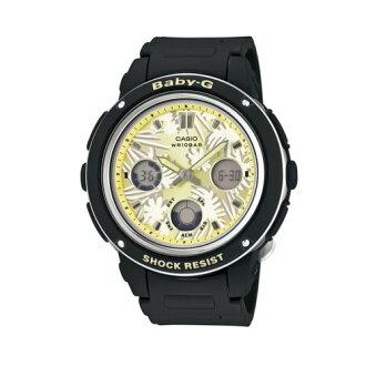 CASIO BABY-G/迎夏元素運動錶/黑/BGA-150F-1ADR