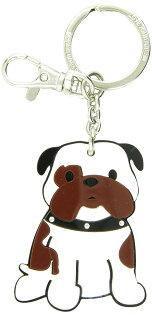 加拿大foufoudog鑰匙圈-鬥牛犬(牛頭犬)Bulldog