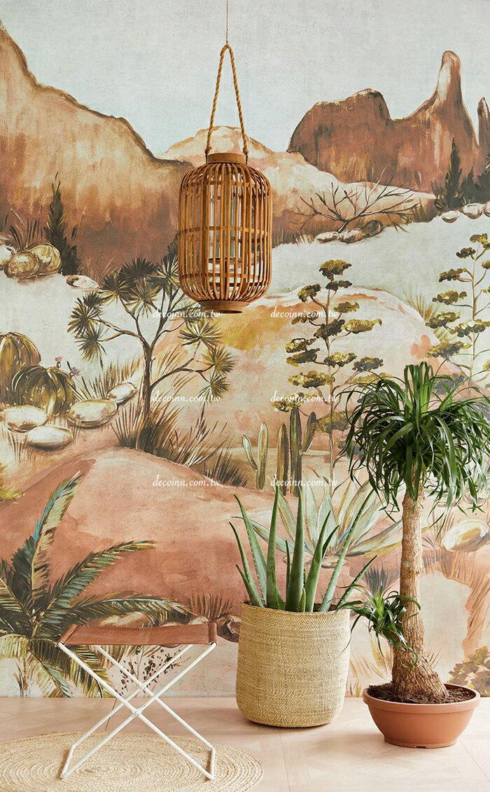 F114-391565~566 荷蘭期貨壁紙 大圖影像 風景 山岩 植物 (2色)