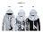 ☆BOY-2☆【PPK88020】美式反光VESTI防風夜光風衣外套 1