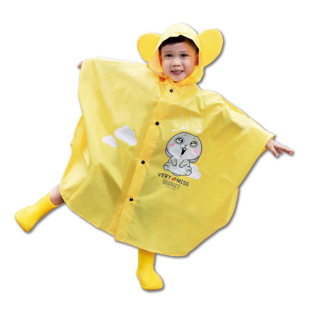 【謙謙創藝好想兔】晴天雨兒童雨衣 兒童雨衣 可愛雨衣 雨衣【JC科技】