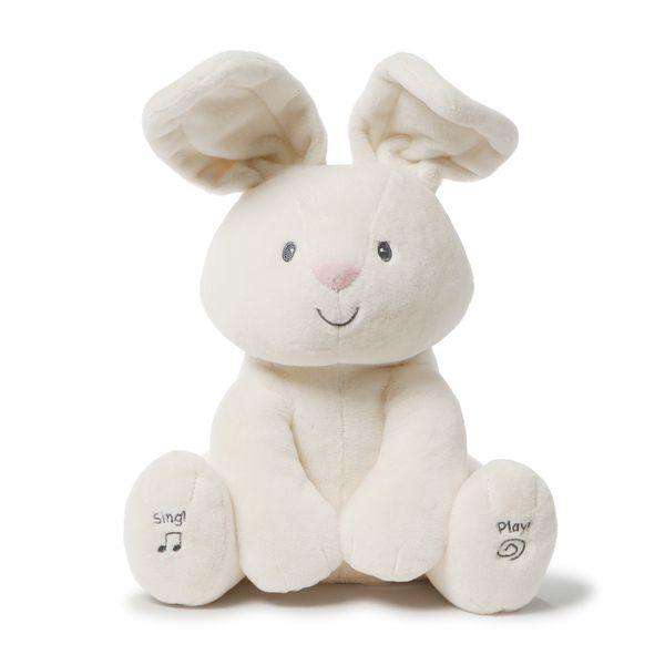 美國 GUND 小兔躲貓貓互動玩偶安撫玩具★衛立兒生活館★