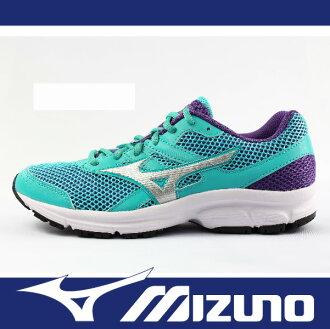 【限時7折!】萬特戶外運動 MIZUNO 美津濃 K1GA160406 女慢跑鞋 MIZUNO SPARK 耐磨大底 舒適 透氣 慢跑 步行 輕運動 水藍+紫色
