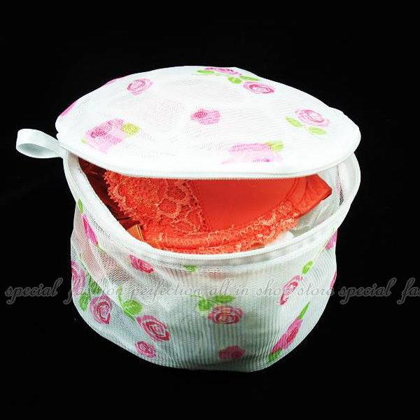 立體細網內衣洗衣袋 胸罩 洗衣網 洗衣球 可摺疊收納(不挑款)【DP140】◎123便利屋◎