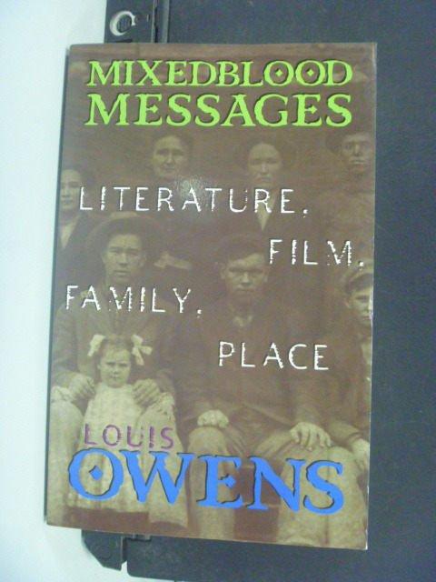 【書寶二手書T6/原文書_MEJ】Mixedblood Messages: Literature_Owens