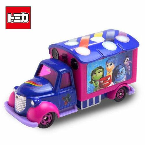【日本進口正版商品】TOMICA 多美小汽車 腦筋急轉彎 宣傳車 DISNEY MOTORS 迪士尼 - 832669