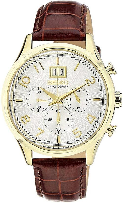 綠野春風百貨場 Seiko 精工【日本代購】男士手錶 計時碼錶spc088p1