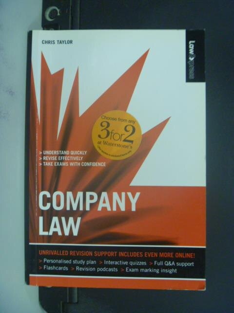 【書寶二手書T9/法律_GGA】Company Law_Chris Taylor