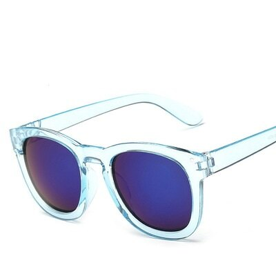 ☆太陽眼鏡偏光墨鏡-透明炫彩時尚圓框男女眼鏡配件11色73en117【獨家進口】【米蘭精品】 1