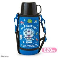 小叮噹週邊商品推薦X射線【C274620】哆啦A夢Doraemon 不鏽鋼水壺620ml-星,隨手瓶/保溫杯/直飲式水壺/保冷保溫/環保