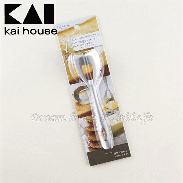 日本貝印 不鏽鋼奶油刀/起司刀《 日本製 》★ Zakka\