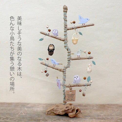 鄉村風日系Zakka鄉村秘密花園幸運樹擺飾 ★很可愛喔★《日本原裝進口》