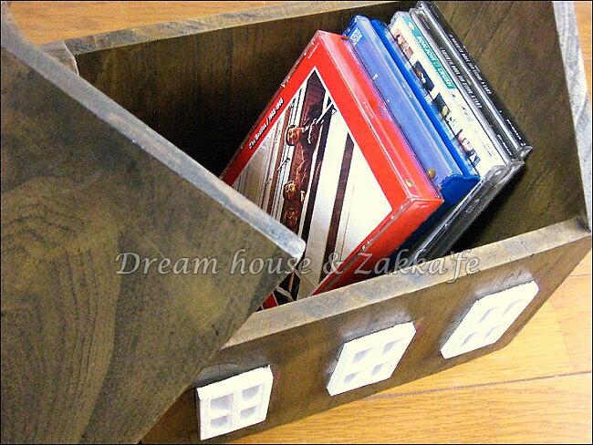 azi-azi 鄉村風日系Zakka 原木房屋造型置物盒 / 收納盒《日本原裝進口》★ Zakka'fe ★ 1