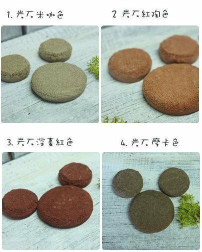超可愛陶製圓形餅乾磚(大)★台灣設計純手工捏製★手作陶製品