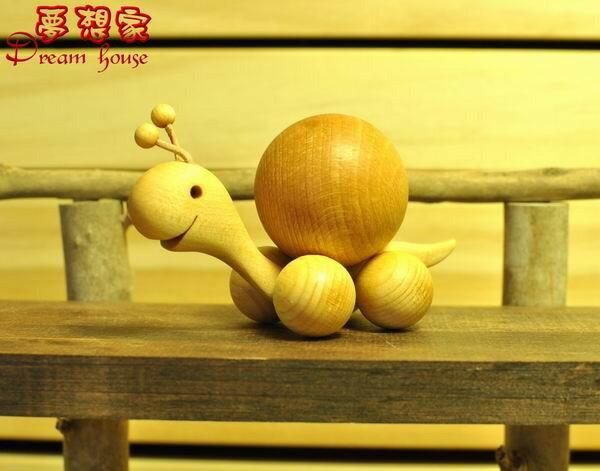 Zakka 鄉村風 超可愛 木製動物擺飾《 蝸牛 M 》★ 德國黑森林SPIEL&KUNST ★ Zakka'fe