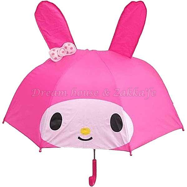日本限定 正版三麗鷗 Sanrio 美樂蒂 造型兒童雨傘《 Melody 》 ★ Zakka'fe ★