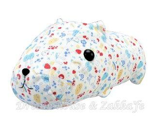 日本原裝進口 水豚君 絨毛娃娃/玩具/小抱枕 《 藍/綠 2色任選 》★ Zakka\