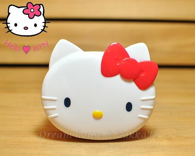 日本三麗鷗 Hello Kitty 大臉便當盒/保鮮盒 180ml 《 日本製 》★ Zakka'fe ★