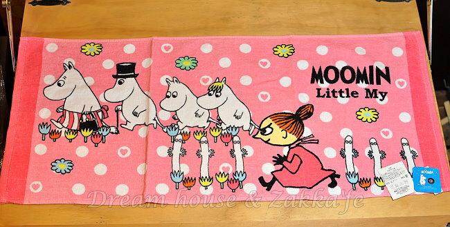 日本進口 正版 嚕嚕米 毛巾 34x80cm 《 MOOMIN 》★ Zakka'fe ★ - 限時優惠好康折扣