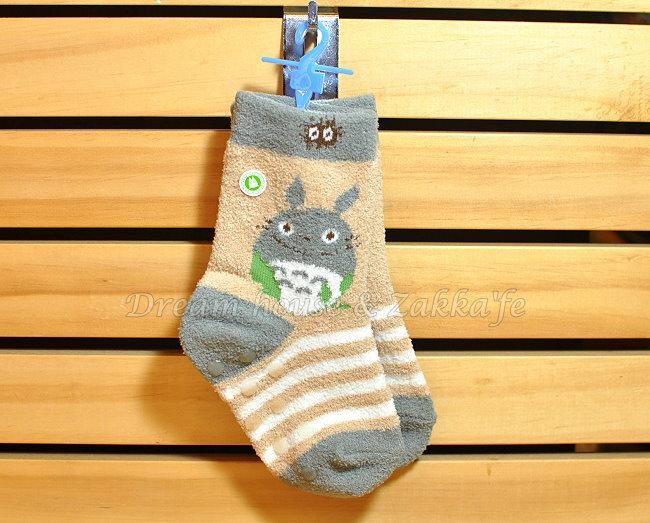 日本宮崎駿 龍貓 Totoro 寶寶襪 / 短襪 / 兒童襪 12~15cm 《 腳底防滑設計 》★ Zakka'fe ★ - 限時優惠好康折扣