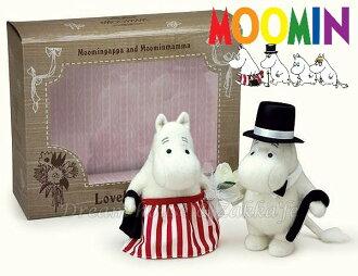日本 MOOMIN 嚕嚕米 婚紗款 婚禮玩偶/絨毛娃娃 禮盒《 婚禮小物/結婚禮物 都適合喔 》 ★ Zakka\