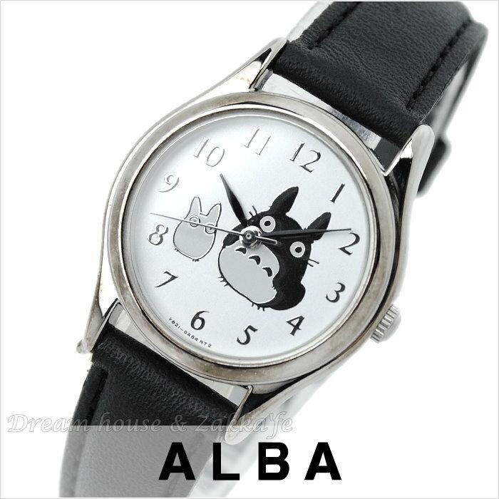 日本進口 宮崎駿 龍貓 ALBA精工 雅柏錶 銀色圓款 手錶/手表 《 日本機芯 》★ Zakka'fe ★
