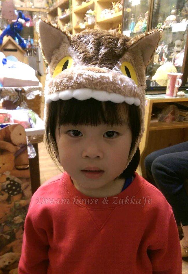 日本宮崎駿 龍貓 Totoro 公車大頭 兒童帽/帽子 《 50cm 》★ Zakka\