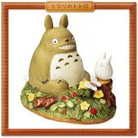 宮崎駿龍貓周邊商品推薦日本宮崎駿 Totoro 龍貓 陶瓷音樂鈴/音樂盒 龍貓與小白 《 日本原裝進口 》Zakka'fe