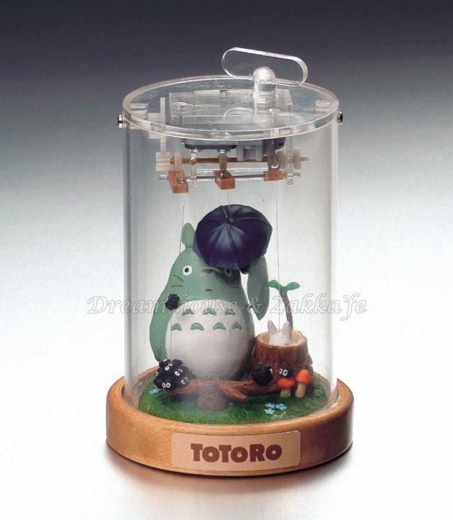 日本宮崎駿 Totoro 龍貓 陶瓷音樂鈴/音樂盒 拉線龍貓 《 日本原裝進口 》Zakka'fe