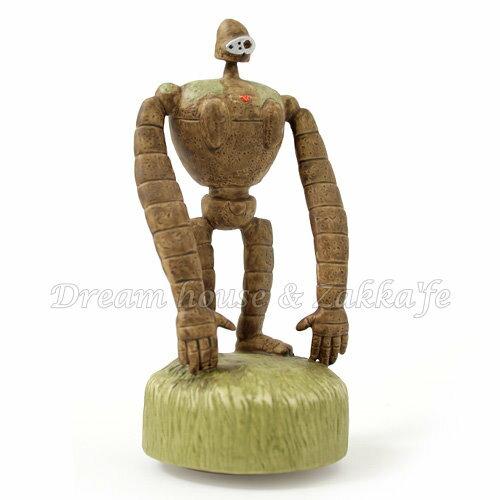 日本宮崎駿 天空之城 陶瓷音樂鈴 / 音樂盒 機器人 ロボット兵 《 日本原裝進口 》Zakka'fe - 限時優惠好康折扣