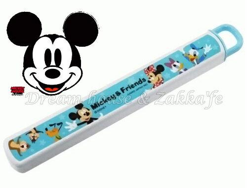 日本 Disney 米奇好朋友 環保筷 / 筷子組 《 日本製 》★ Zakka'fe ★ - 限時優惠好康折扣