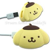 布丁狗周邊商品推薦到日本限定 原裝進口 布丁狗 造型 USB 充電器 插頭 《 正版三麗鷗 Sanrio 》 ★ Zakka'fe ★