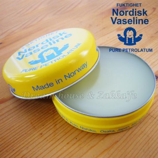 北歐挪威 Nordisk Vaseline 保濕護手霜《 無添加色素、香料、防腐劑 》★ Zakka'fe  ★