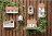 鄉村風 日系Zakka 原木屋子造型 掀蓋收納盒 / 收納架 / 壁架 / 置物盒 《可擺放也可吊掛喔》 ★日本原裝進口★ Zakka'fe 2