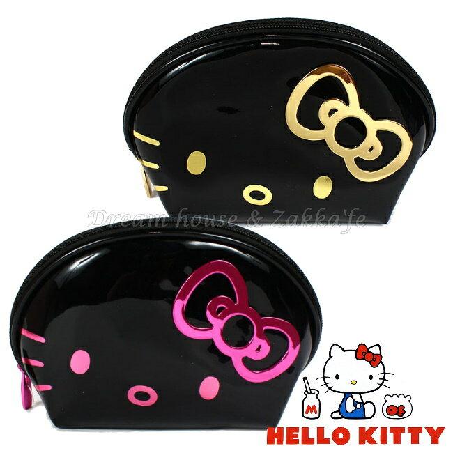 日本限定 三麗鷗 Hello Kitty 貝殼包 / 化妝包 《 化妝包 / 雜物包 / 小物收納 多用途喔 》《 2色任選 》 ★ Zakka'fe ★ - 限時優惠好康折扣