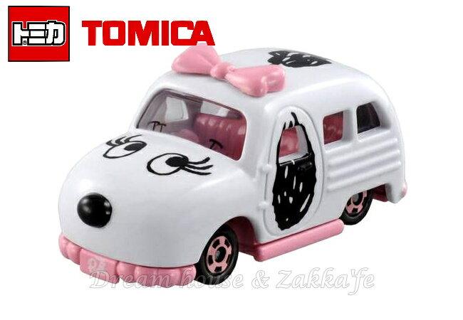 日本【トミカ】SNOOPY 史努比 BELLE 小汽車玩具 《 Dream TOMICA 》 ★ Zakka'fe ★ - 限時優惠好康折扣