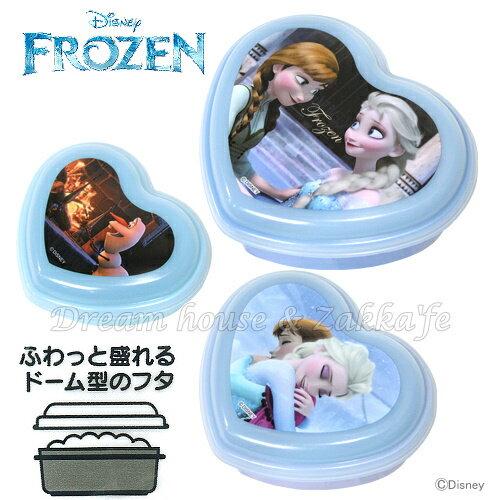 日本 Disney 冰雪奇緣 心型 便當盒 / 保鮮盒 《 S / M / L 3款一組 》★ 日本製 ★ Zakka'fe - 限時優惠好康折扣