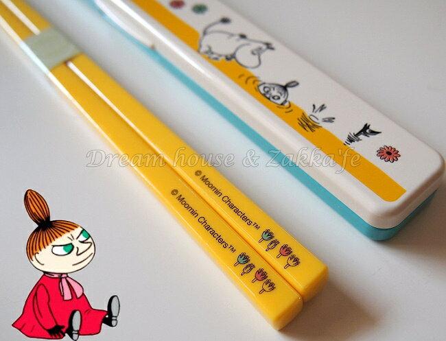 日本進口 MOOMIN 嚕嚕米 環保筷子組/環保筷/筷子 《附收納盒》 ★ 日本製 ★ Zakka\
