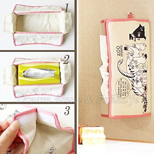 日本進口 正版 嚕嚕米 日式面紙盒套 / 面紙盒 / 面紙套 《 MOOMIN 》★ Zakka'fe ★ 1
