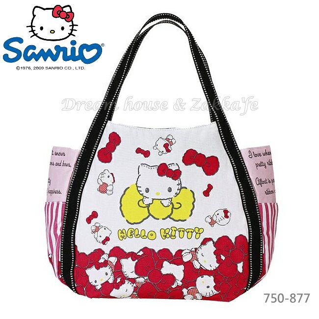 日本進口 sanrio 三麗鷗 Hello Kitty 凱蒂貓 托特包/媽媽包/大容量包包 《 0045 》★ Zakka'fe ★