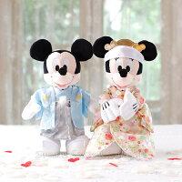 婚禮小物推薦到日本正版 Disney 迪士尼 米奇/米妮/米老鼠 日式和服款 婚禮玩偶/絨毛娃娃 《 婚禮小物/結婚禮物 都適合喔 》 ★ Zakka'fe ★