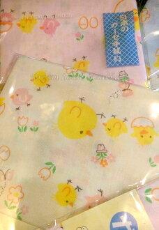 日本製 小鴨/鴨子 紗布毛巾/紗布巾/寶寶澡巾/嬰兒澡巾/洗臉巾 《 2色款任選 》 ★ Zakka\