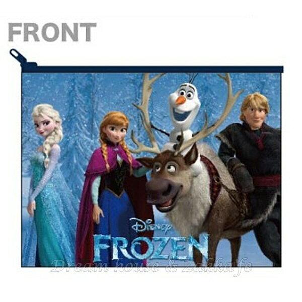 日本製 Disney 冰雪奇緣 化妝包 / 小物包 / 小包包 《 Disney FROZEN 》★ Zakka'fe ★ - 限時優惠好康折扣