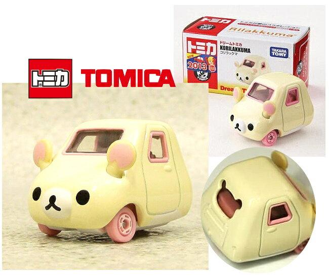 日本【トミカ】San-X Rilakkuma 牛奶熊 小汽車玩具 《 Dream TOMICA 》 ★ Zakka'fe ★ - 限時優惠好康折扣
